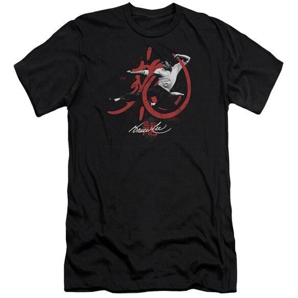 Bruce Lee High Flying Short Sleeve Adult T-Shirt