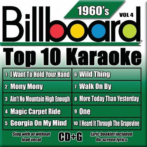 Billboard Top 10 Karaoke: 1960's 4 / Various