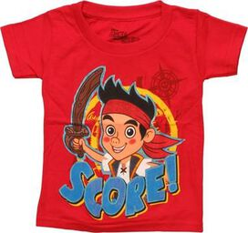 Jake and Never Land Pirates Score Toddler T-Shirt