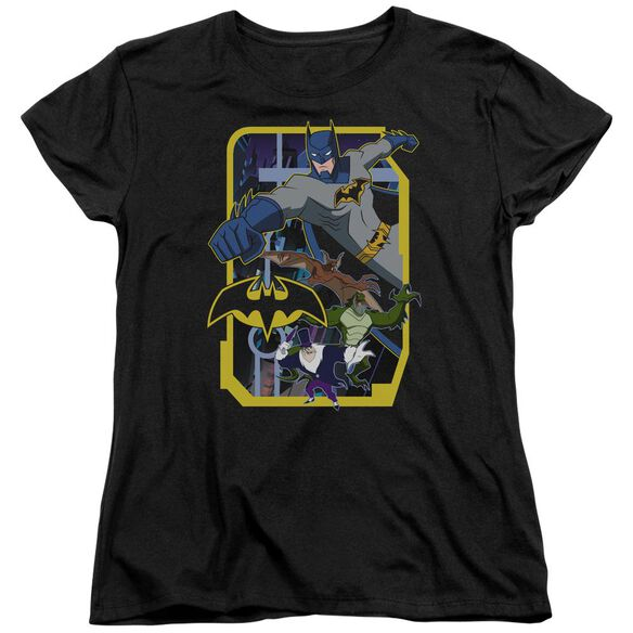 Batman Unlimited Unlimited Villains Short Sleeve Womens Tee T-Shirt