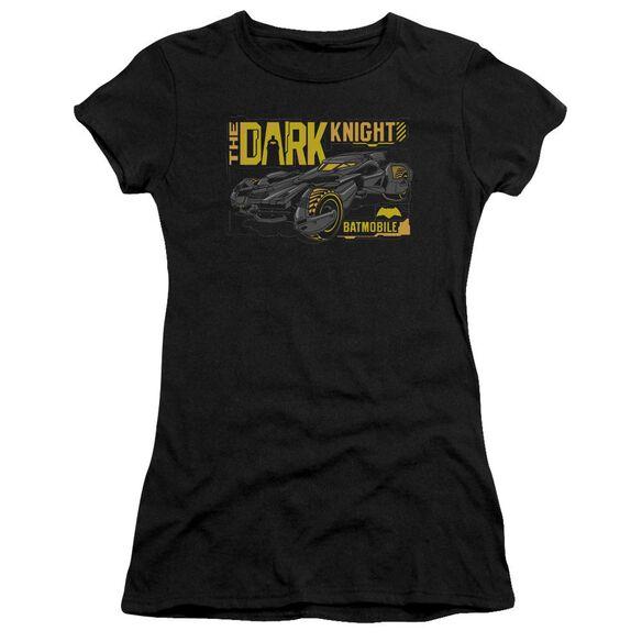 Batman V Superman Mobile Dark Knight Short Sleeve Junior Sheer T-Shirt
