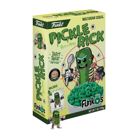 Rick & Morty Pickle Rick FunkO's Cereal