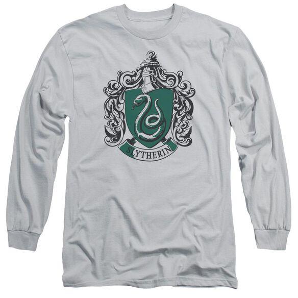 Harry Potter Slytherine Crest Long Sleeve Adult T-Shirt