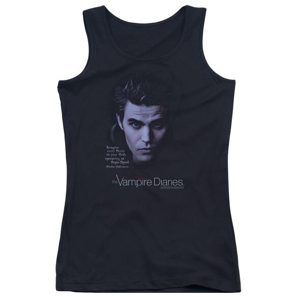 Vampire Diaries Sense Your Body Juniors Tank Top