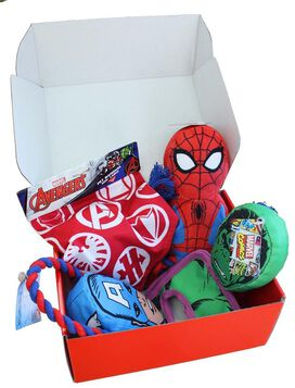 Avengers Fetch Crate for Pets!