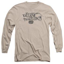 SURVIVOR LONELY VILLAINS - L/S ADULT 18/1 - SAND T-Shirt