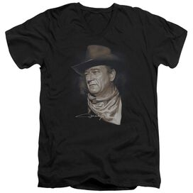 John Wayne The Duke Short Sleeve Adult V Neck T-Shirt