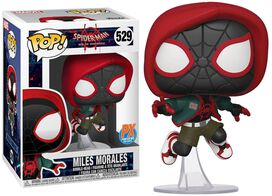 Funko Pop!: Spider-Man Into the Spider-Verse - Casual Miles Morales [Previews Exclusive]