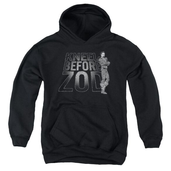 Dc Kneel Zod Youth Pull Over Hoodie