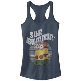 Despicable Me Sun Bummin Tank Top Juniors T-Shirt