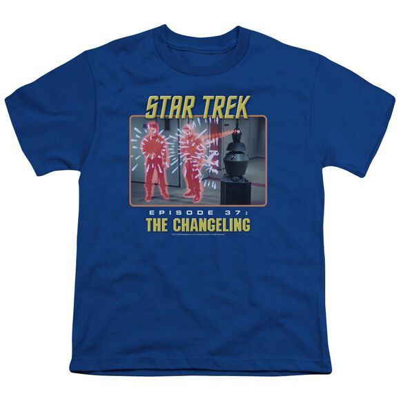 St Original The Changeling Short Sleeve Youth Royal T-Shirt
