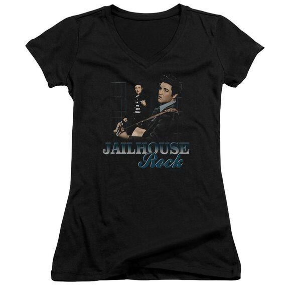 Elvis Jailhouse Rock Junior V Neck T-Shirt