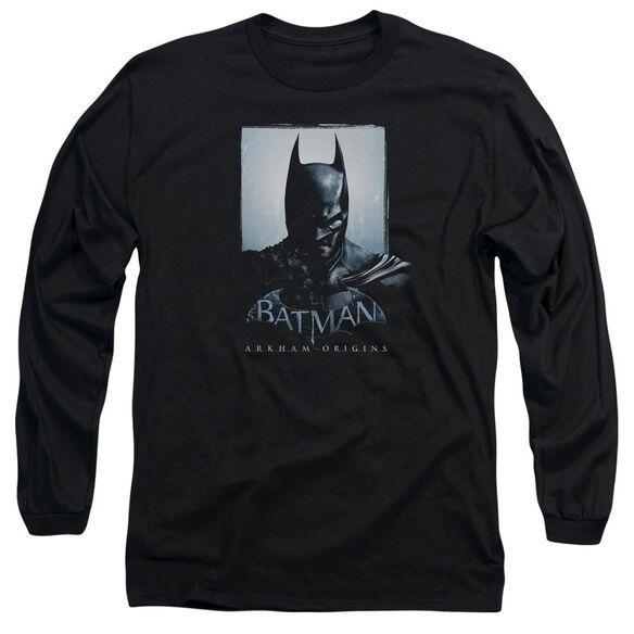 Batman Arkham Origins Two Sides Long Sleeve Adult T-Shirt