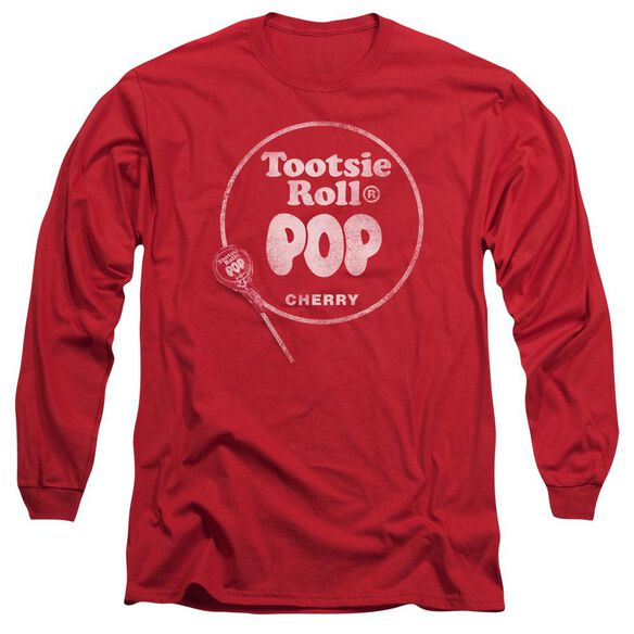 Tootsie Roll Tootsie Roll Pop Logo Long Sleeve Adult T-Shirt