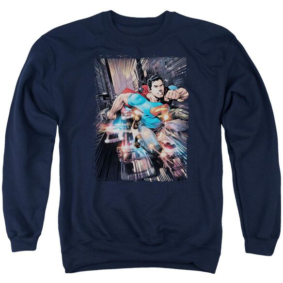 Superman Action Comics #1 Adult Crewneck Sweatshirt