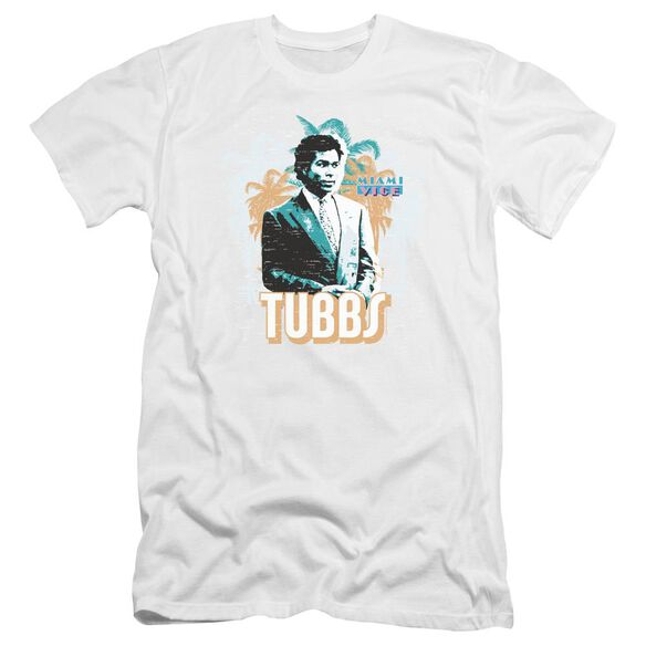 Miami Vice Tubbs Premuim Canvas Adult Slim Fit