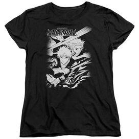 Bleach Swords Short Sleeve Womens Tee T-Shirt
