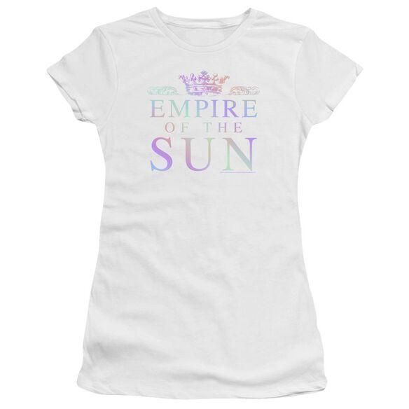 Empire Of The Sun Rainbow Logo Hbo Short Sleeve Junior Sheer T-Shirt