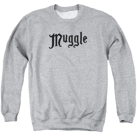 Harry Potter Muggle Adult Crewneck Sweatshirt Athletic