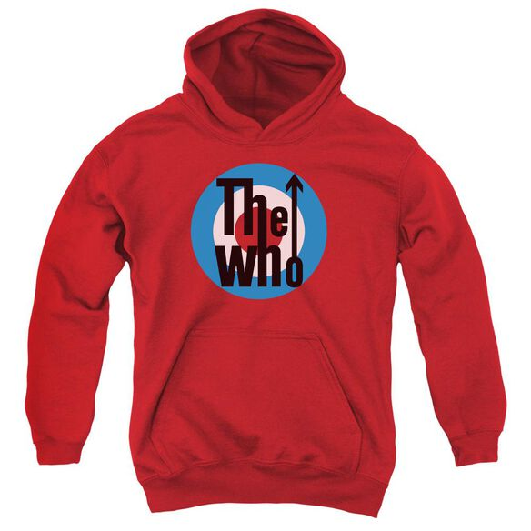 The Who Logo Youth Pull Over Hoodie