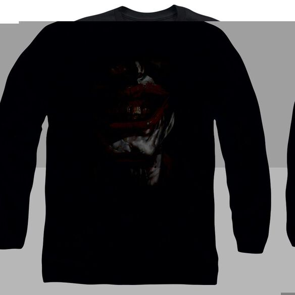BATMAN SMILE OF EVIL- L/S ADULT T-Shirt
