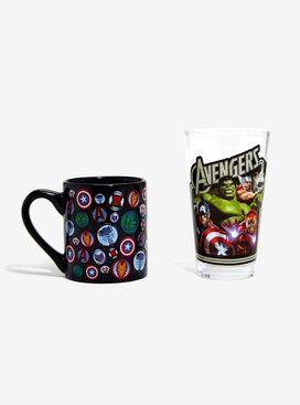 Avengers Ceramic Mug And Pint Glass Set