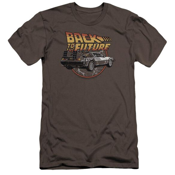 Back To The Future Time Machine Premuim Canvas Adult Slim Fit