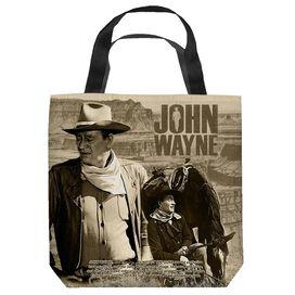 John Wayne Stoic Cowboy Tote