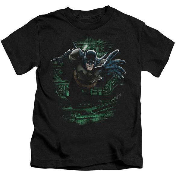 Batman Surprise Short Sleeve Juvenile Black T-Shirt
