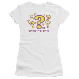 Dum Dums Mystery Flavor Short Sleeve Junior Sheer T-Shirt