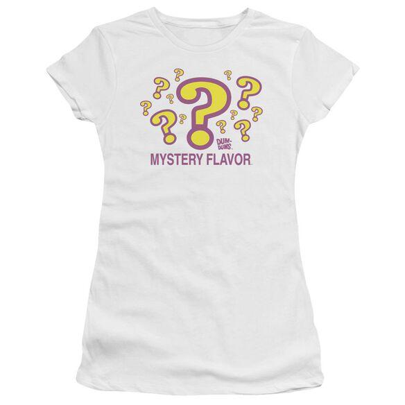 Dum Dums Mystery Flavor Short Sleeve Junior Sheer T-Shirt