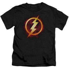 Jla Flash Title Short Sleeve Juvenile T-Shirt