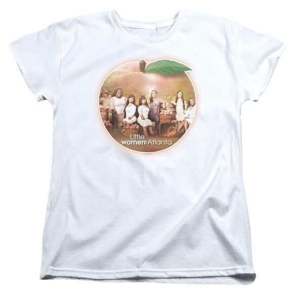 Little Women Atlanta Peach Pie Short Sleeve Womens Tee T-Shirt