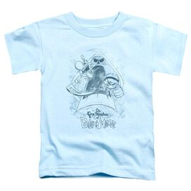 GRIM ADVENTURES OF BILLY & MANDY SKETCHED - S/S TODDLER TEE - LIGHT BLUE - T-Shirt
