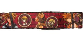 Kingdom Hearts Portrait Emblems Seatbelt Belt
