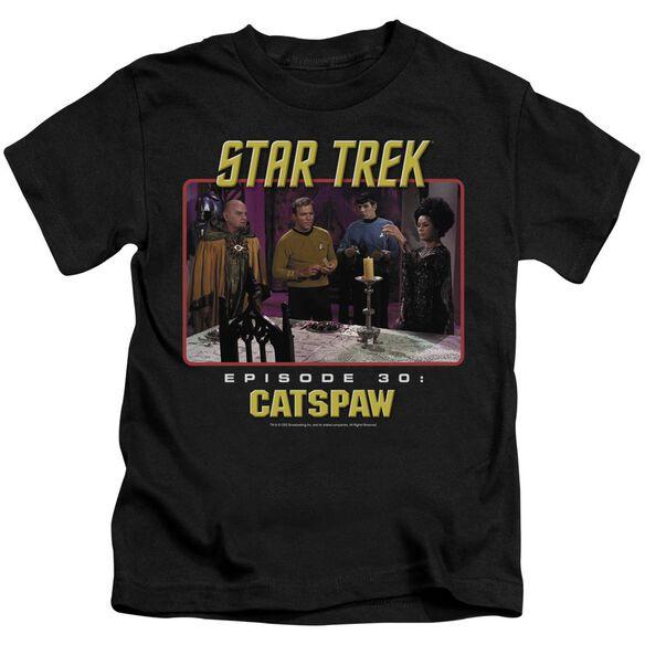 Star Trek Original Cat's Paw Short Sleeve Juvenile T-Shirt