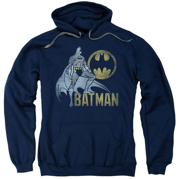 Batman Knight Watch Adult Pull Over Hoodie