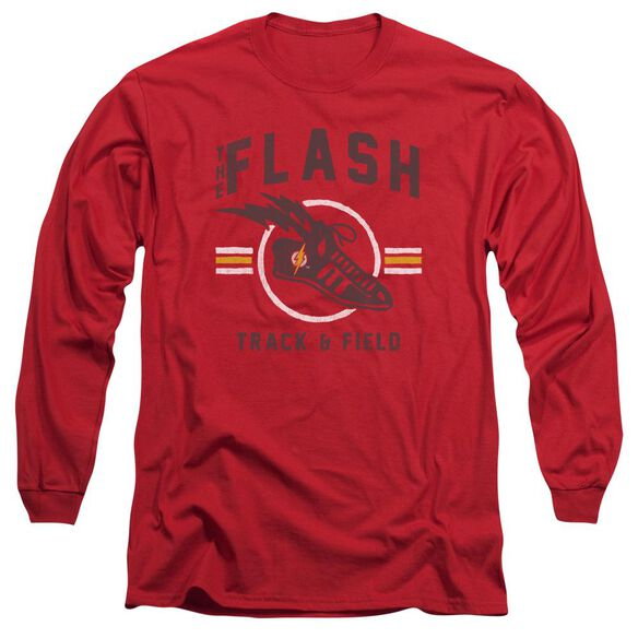 Jla Track And Field Long Sleeve Adult T-Shirt