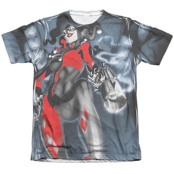Batman Nice Shot Adult Poly Cotton Short Sleeve Tee T-Shirt