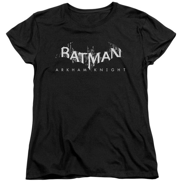 Batman Arkham Knight Ak Splinter Logo Short Sleeve Womens Tee T-Shirt