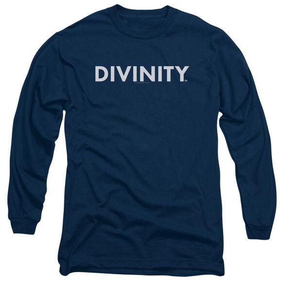 Valiant Divinity Logo Long Sleeve Adult T-Shirt