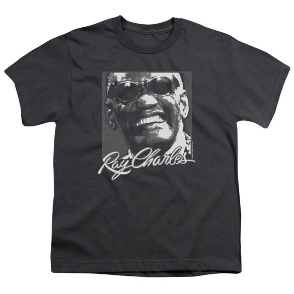 Ray Charles Signature Glasses Short Sleeve Youth T-Shirt