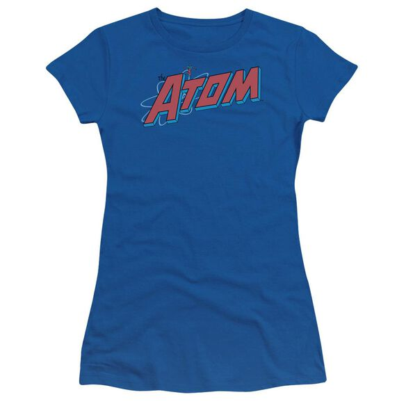 Dc The Atom Short Sleeve Junior Sheer Royal T-Shirt