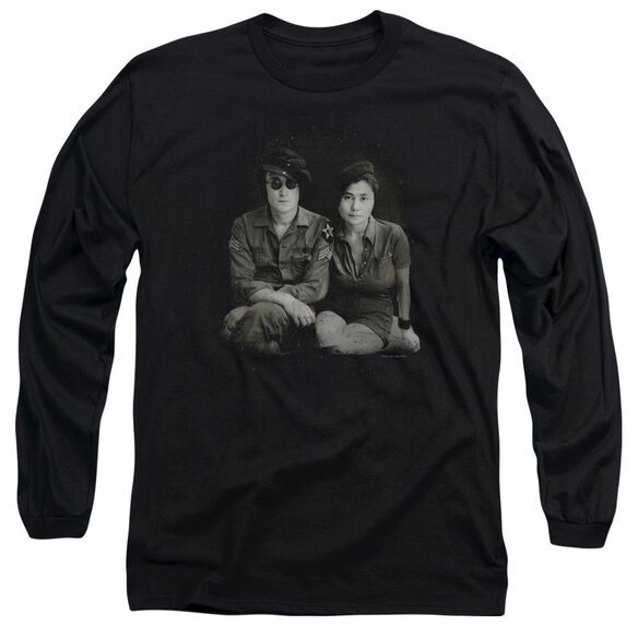 John Lennon Beret Long Sleeve Adult T-Shirt