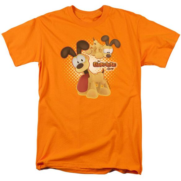 Garfield Odie Short Sleeve Adult T-Shirt