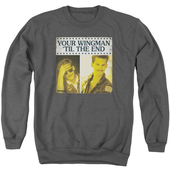 Top Gun Til The End Adult Crewneck Sweatshirt