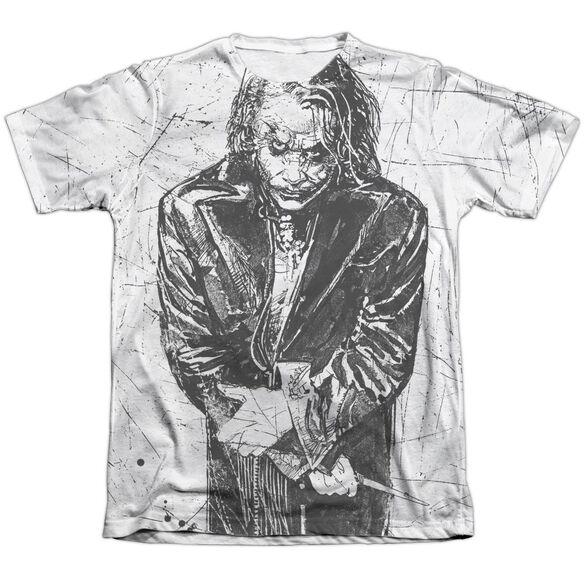 Dark Knight Sketchy Adult Poly Cotton Short Sleeve Tee T-Shirt