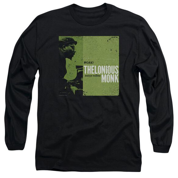 Thelonious Monk Work Long Sleeve Adult T-Shirt