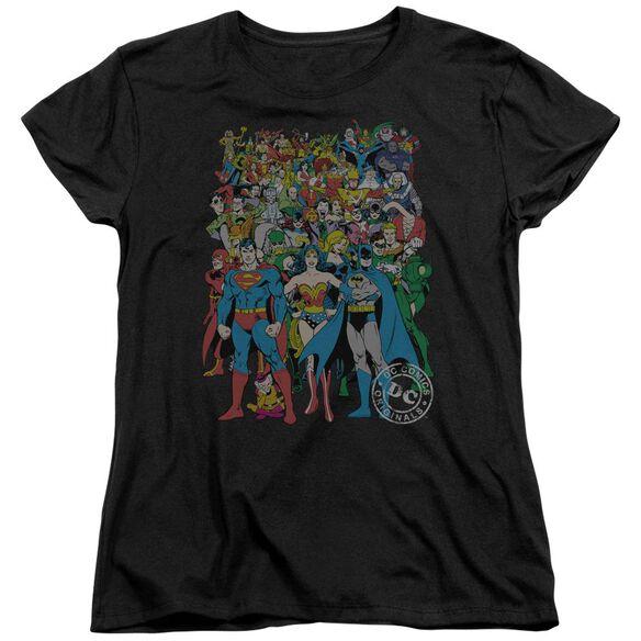 Dc Original Universe Short Sleeve Womens Tee T-Shirt