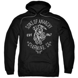 Sons Of Anarchy Fabric Print Adult Pull Over Hoodie